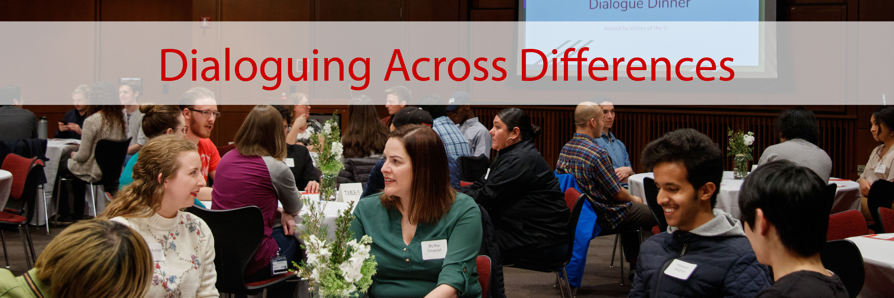 Dialoguing Across Differences