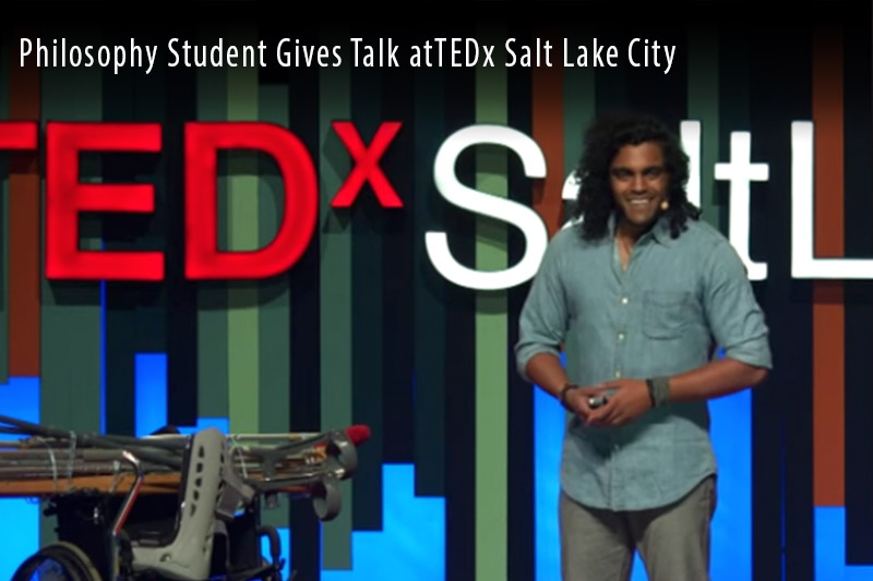 Philosophy student gives Ted Talk