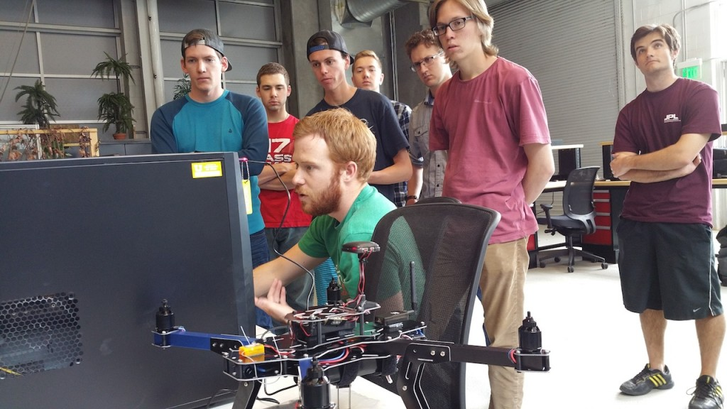 drones lab students