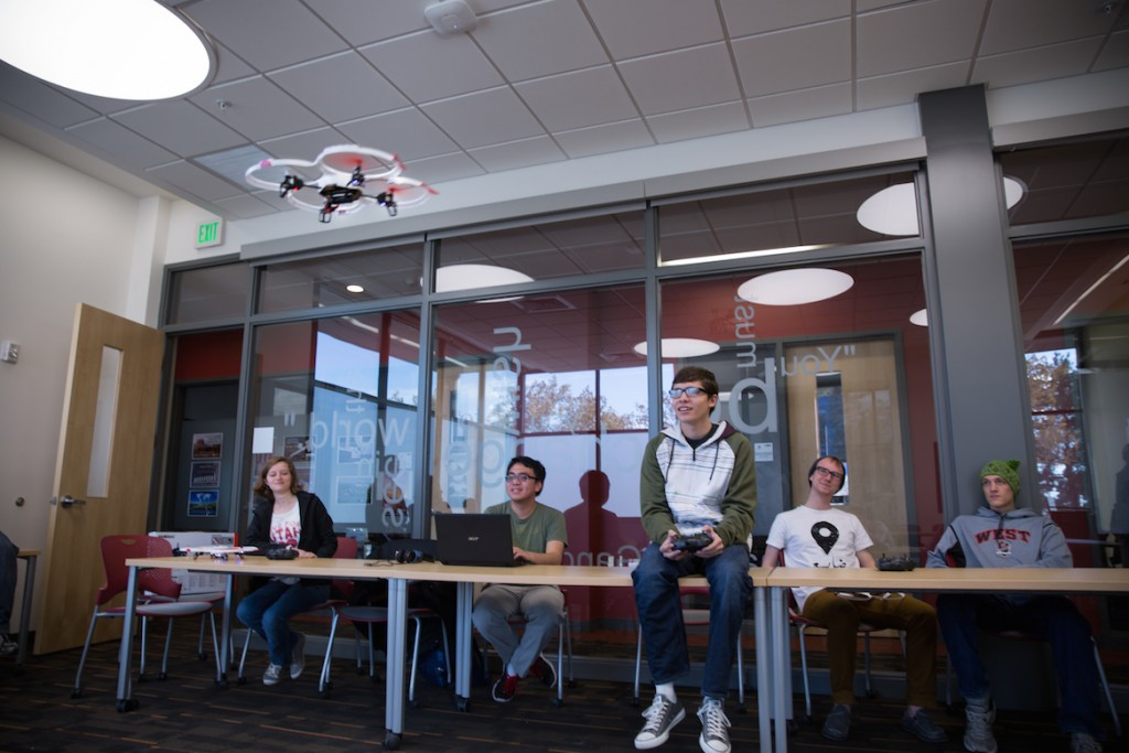 drones students